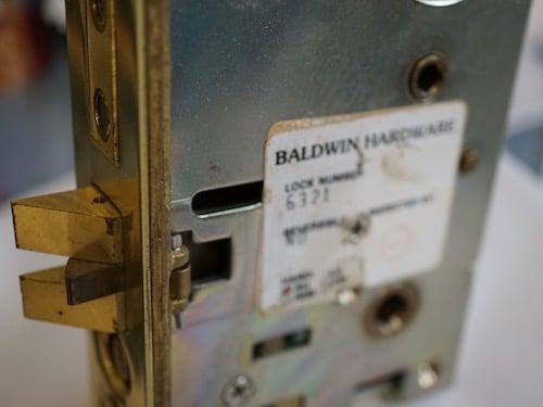 baldwin mortise lock repaired